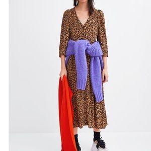 Brand New Animal Print Zara Dress. Never worn.